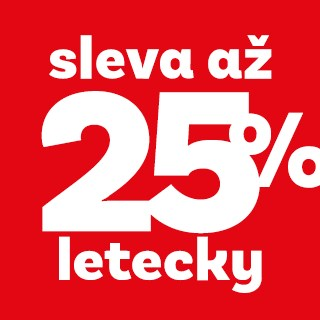 Top First Minute 25% letecky